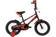 """Детский велосипед  NOVATRACK 14"""", EXTREME, коричневый, полная защита цепи,  тормоз нож, короткие крылья, нет"""